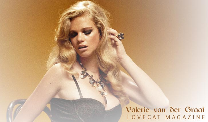 Валери ван дер Грааф / Valerie van der Graaf by Pierre Dal Corso - Lovecat Magazine issue 5