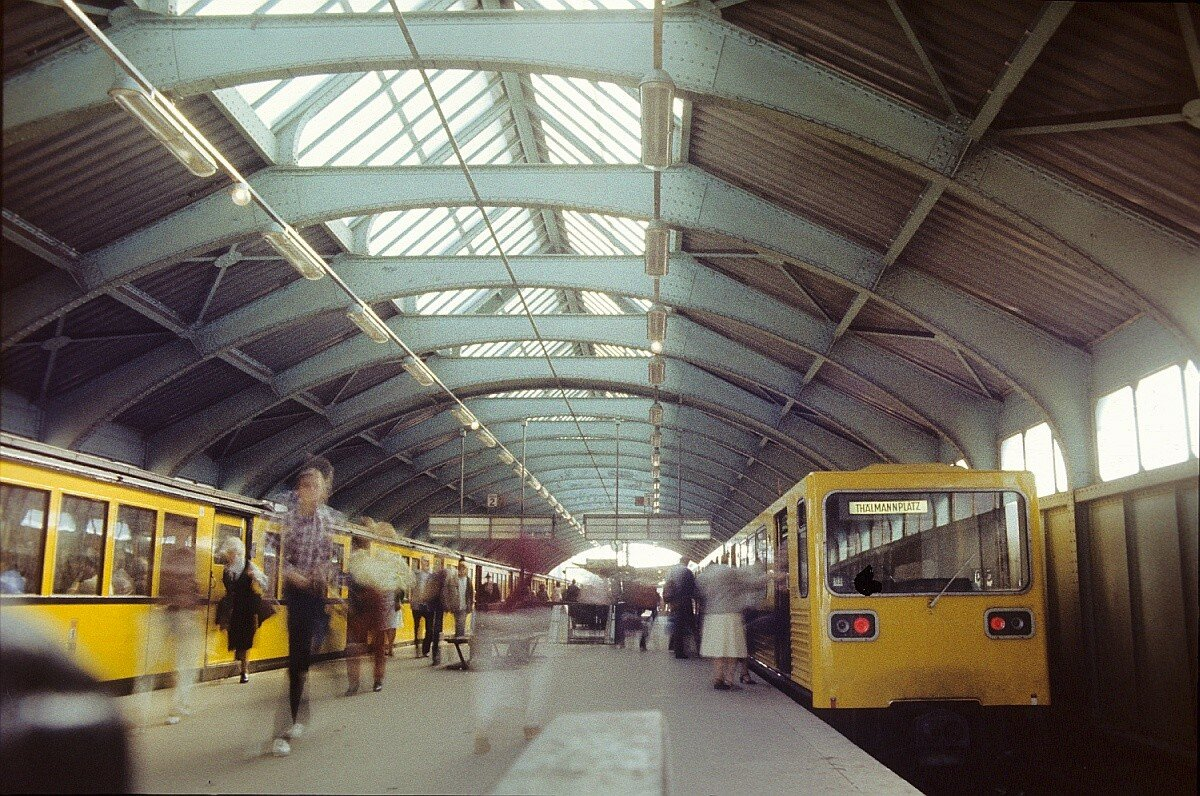 Станция метро Димитровштрассе
