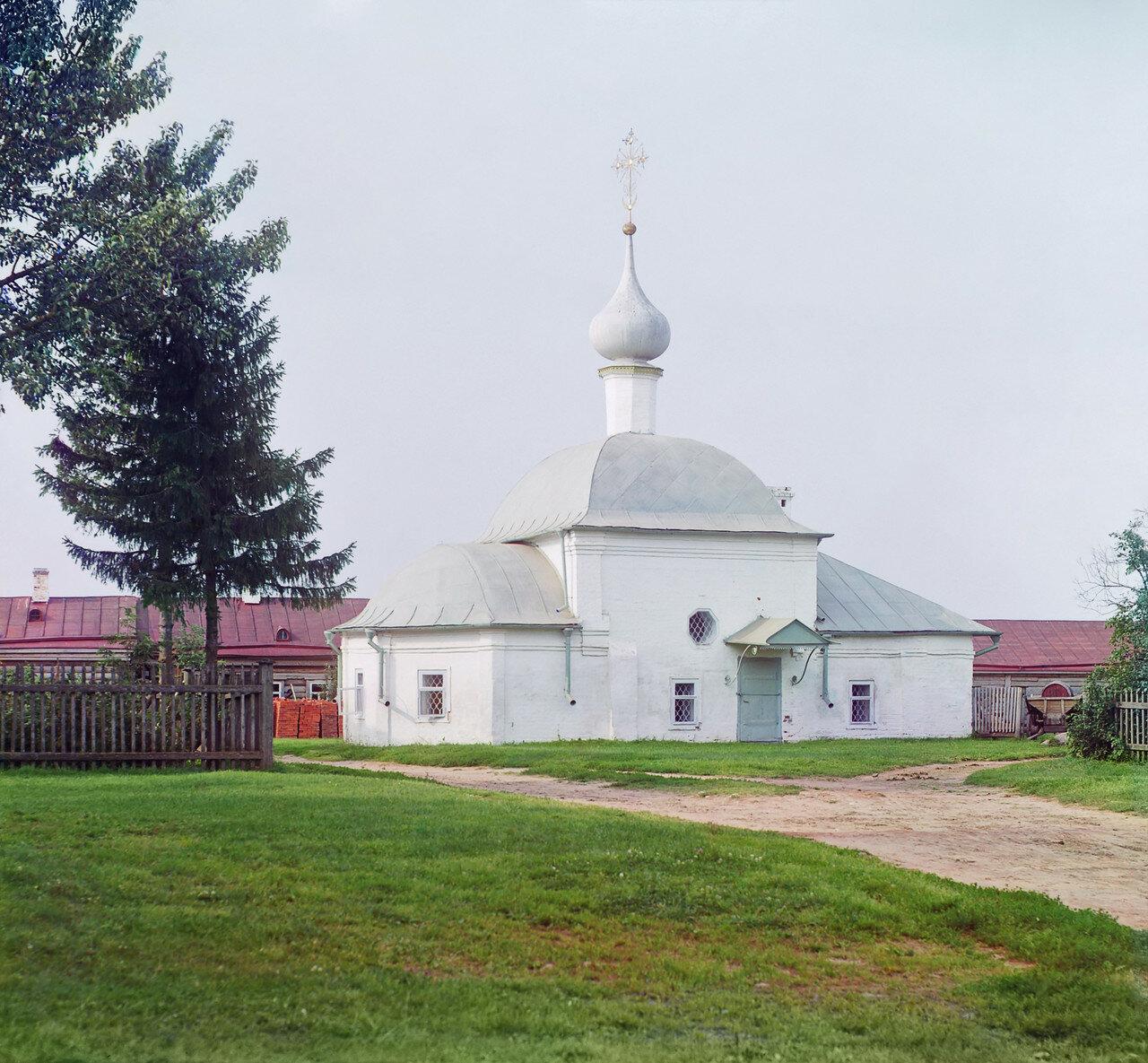 Церковь во имя Казанской Божией Матери в монастыре Федора Стратилата