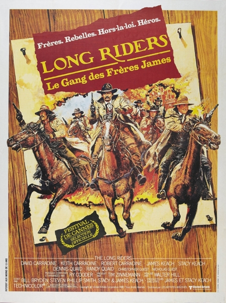 Скачущие издалека / The Long Riders (1980/BDRip/HDRip)