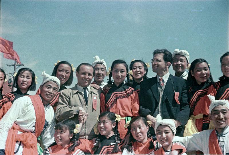 Наши в Красном Китае, 1950 год
