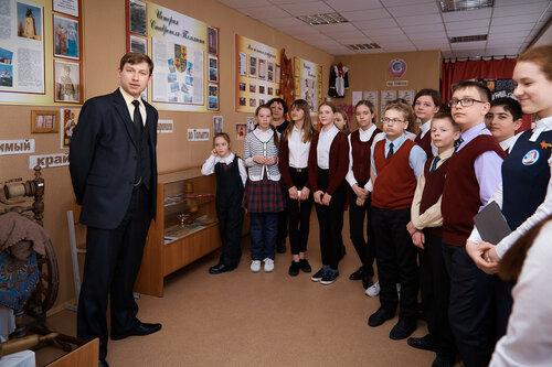 Экскурсия для тольяттинских школьников в нашем музее «Хранитель времени»