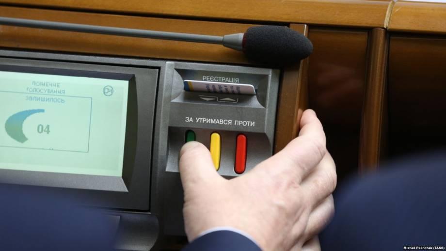 Рада приняла постановление о непризнании Украиной выборов президента России в Крыму