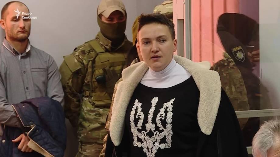 Савченко объявила голодовку (видео)