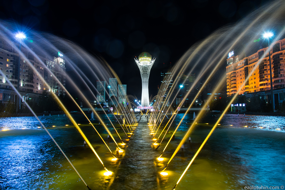 """Expensive! Richly Mad architecture of the capital of Kazakhstan, buildings, city, Astana, capital, center, building, Baiterek, city, became, """"Baiterek"""", president, several, Here, right away, Building, large, Astana, carrying, meters"""