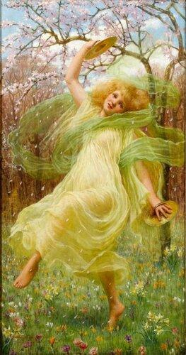 William Savage Cooper (1880-1926)  Весна