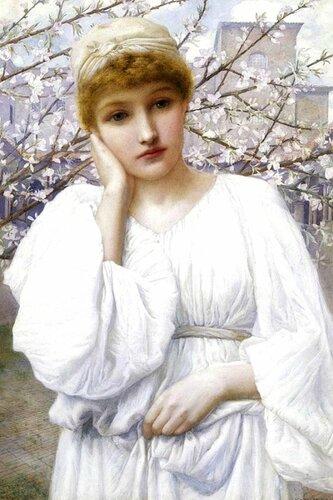 Henry Ryland (1856-1924) La Primavera