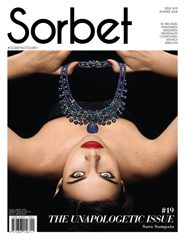Sara Sampaio by Rowan Papier for Sorbet Magazine Summer 2018