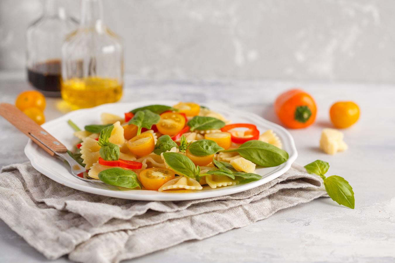 Веганская еда / фото Нина Фирсова