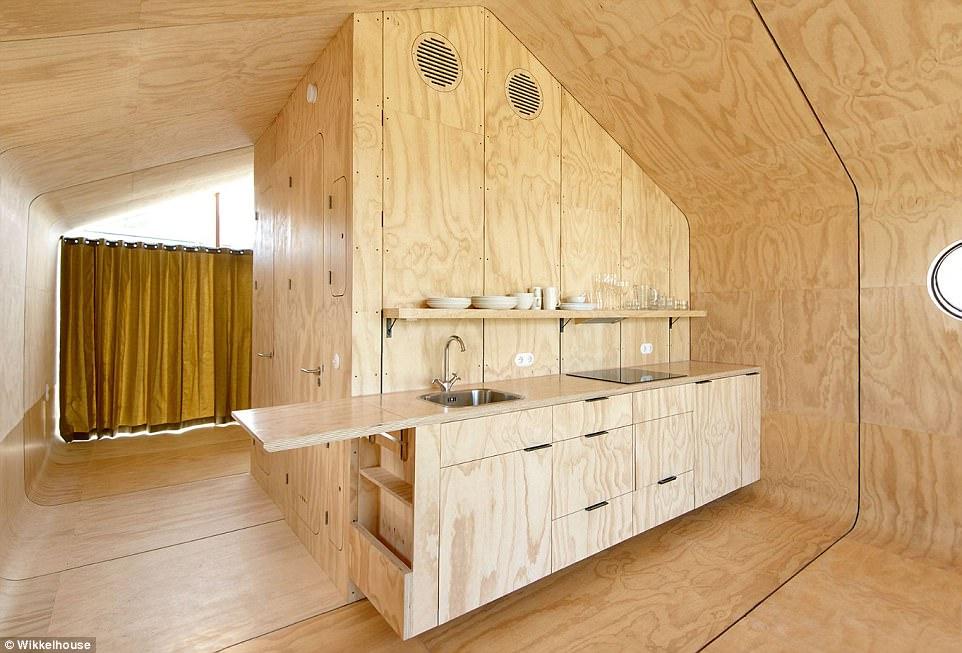 Собирается за 1 день, прослужит 100 лет: голландцы создали полнофункциональный дом из картона