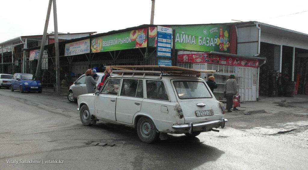 Жигули с советскими номерами в Оше