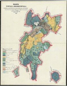 План города Звенигорода