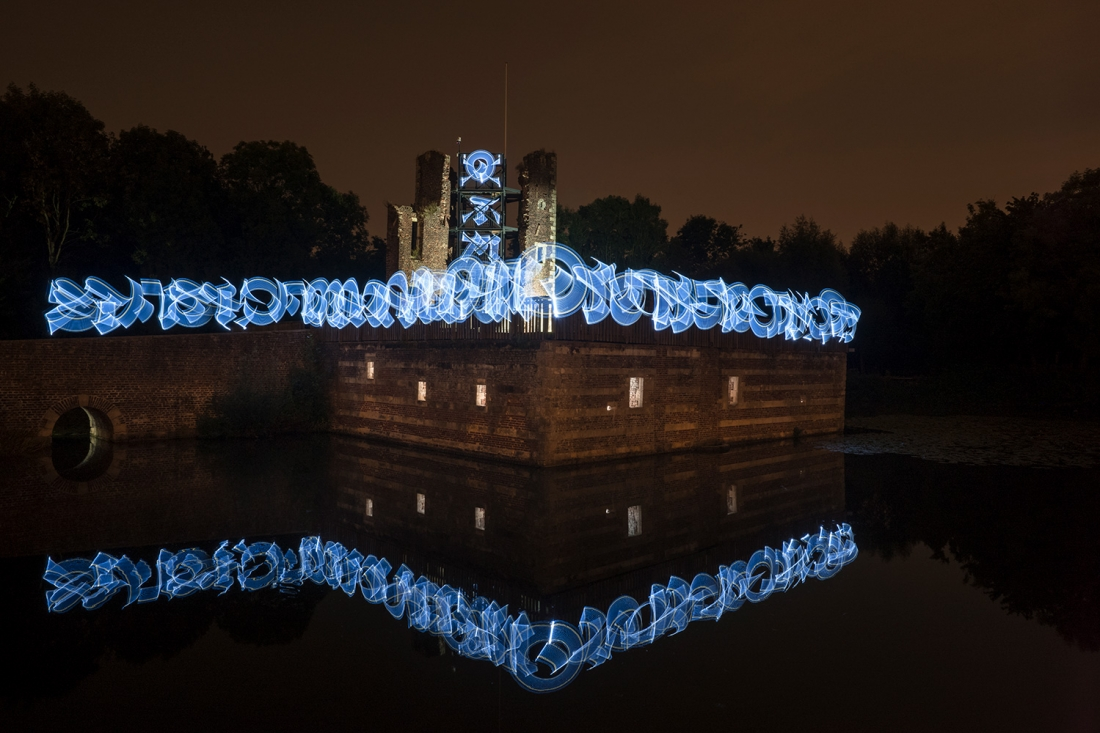 Ephemeral Light Calligraphies in the Netherlands