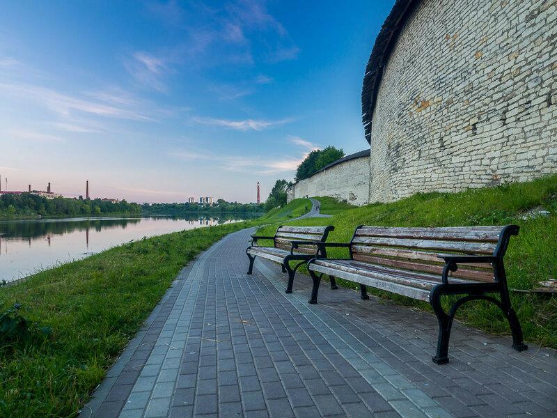 Стена Окольного города.