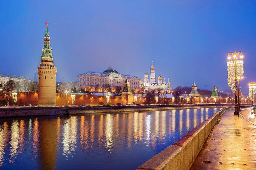 Москва. Кремль. Большой Кремлёвский дворец