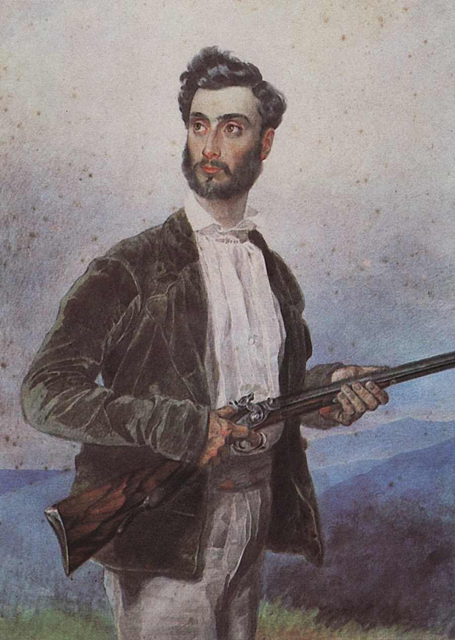 Портрет Антонио Титтони. 1850-1852 Частное собрание.