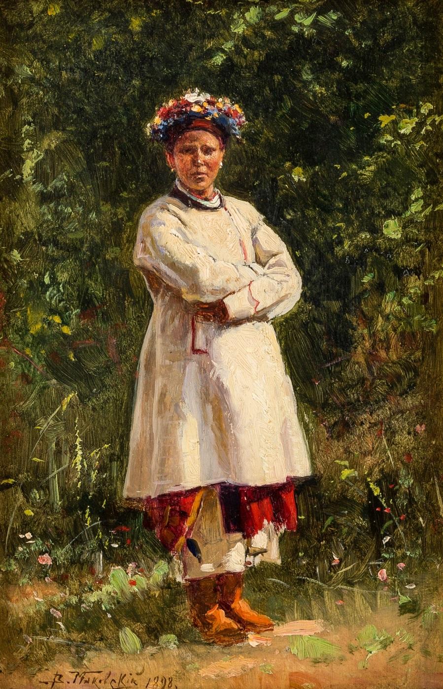 Украинская девушка, 1898