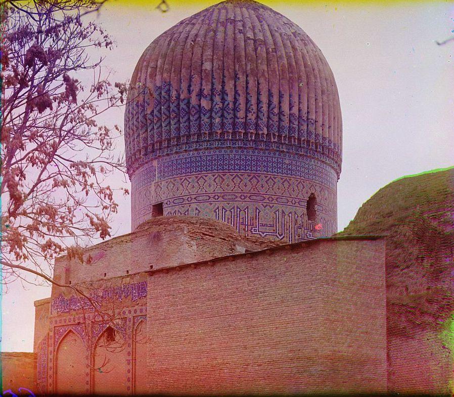 Гур-Эмир. Купол мечети (мавзолея)