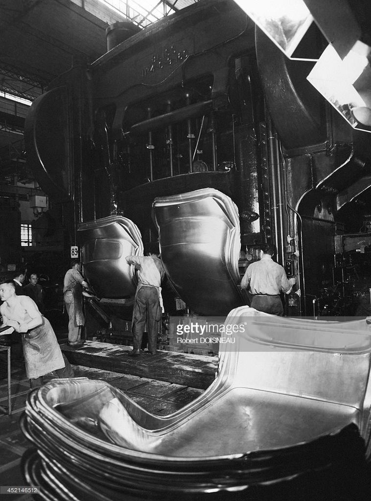 1950. Автомобильный завод