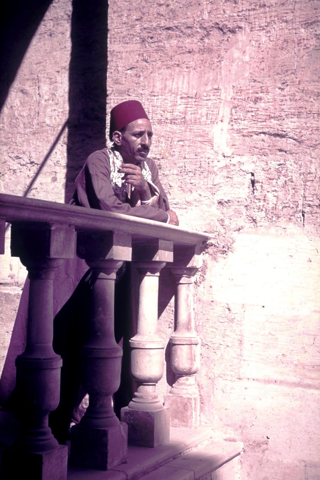 Каир. Египтянин в феске
