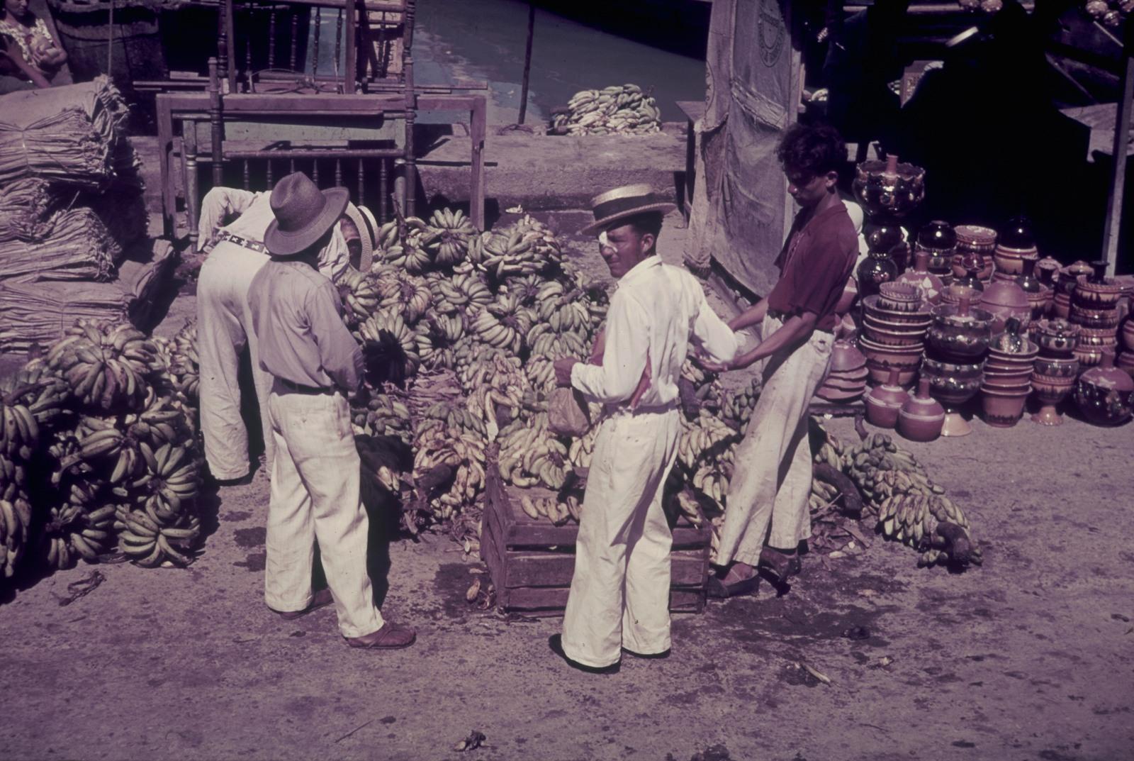Панама. Торговцы бананами