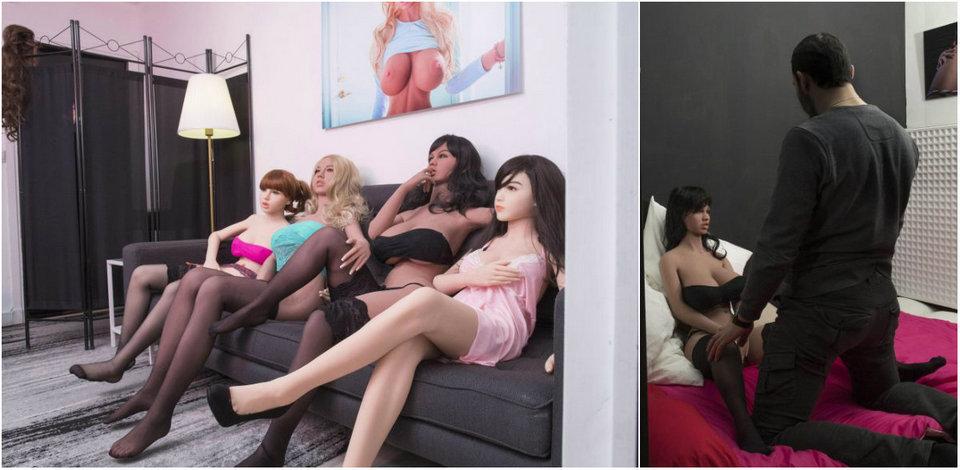Первый бордель с секс-куклами в Париже