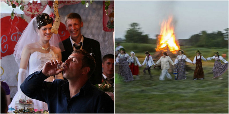 Фотопроекты Алексея Мальгавко «Свадьба без гламура» и «Деревня Бобровка»