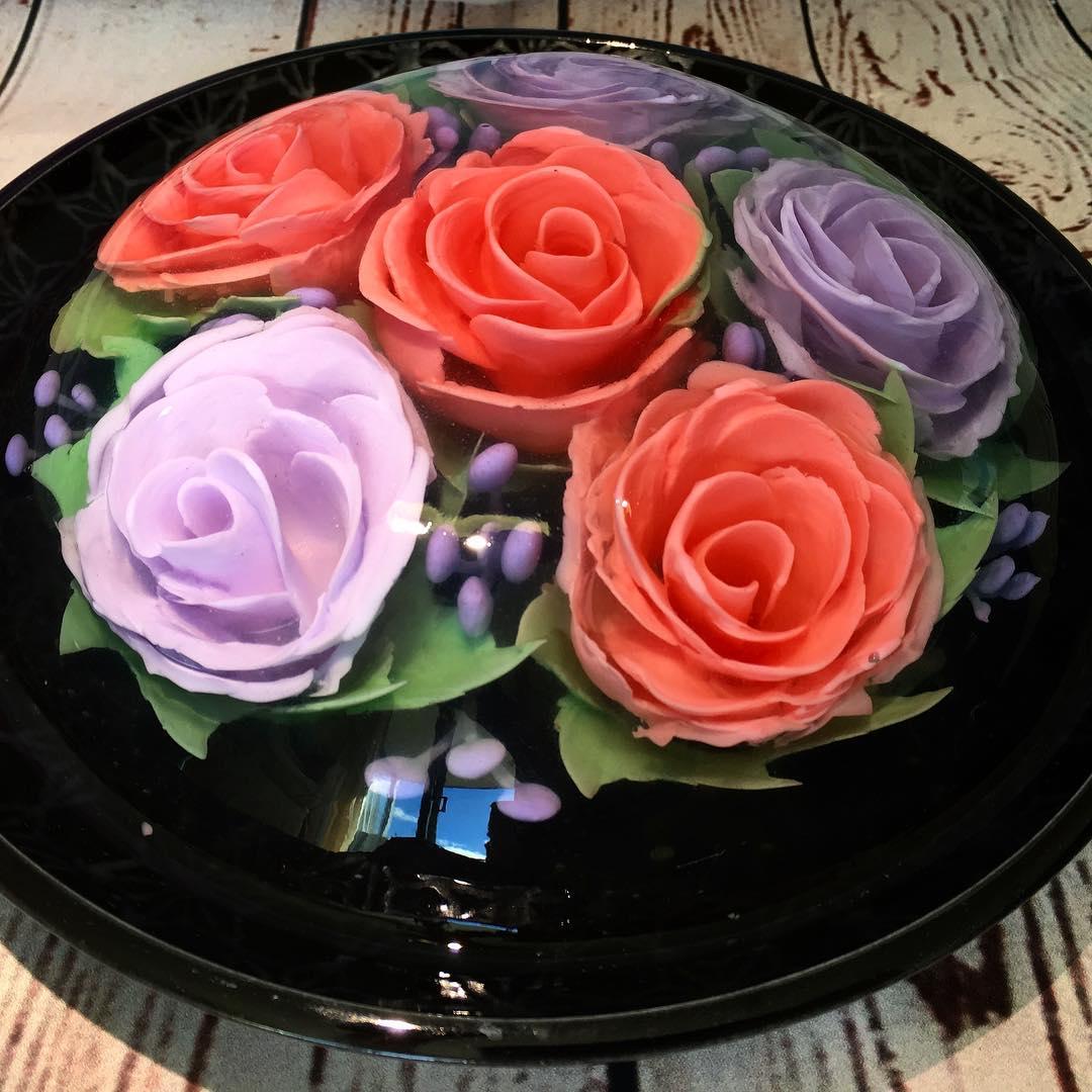 Удивительные 3D-торты из желе