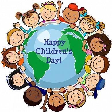 Открытки. Всемирный день ребенка. Будьте счастливы!