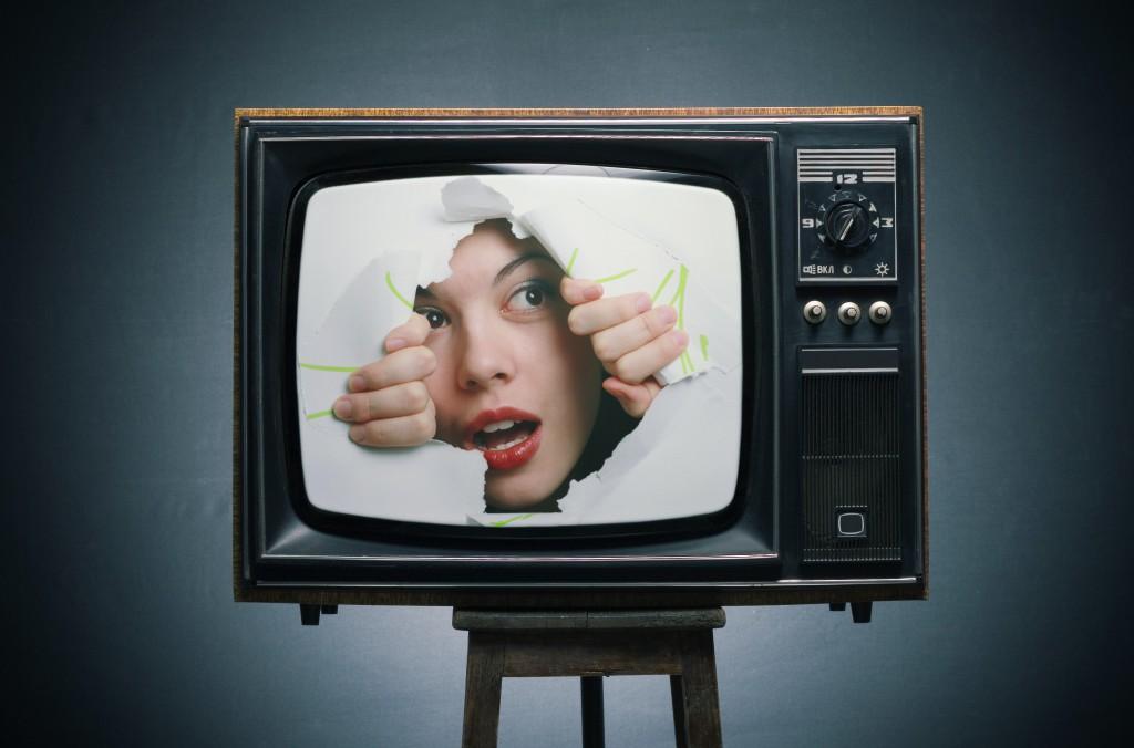 Открытки. Всемирный день телевидения. Взгляд с другой стороны