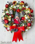 Новогодняя,рождественская флористика
