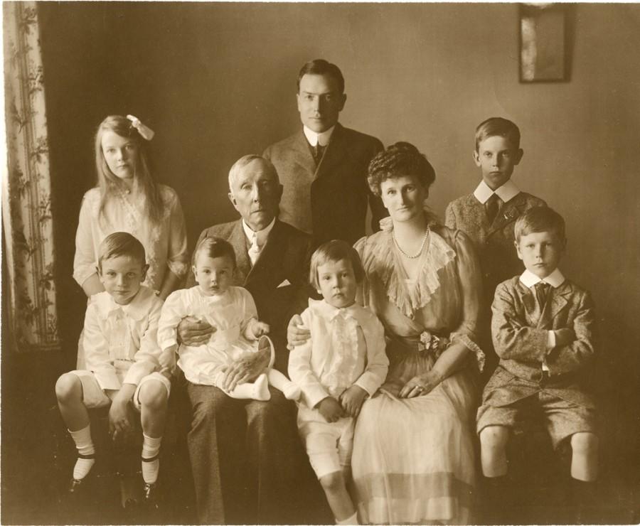 богатство богатые воспитание правила Рокфеллер семья