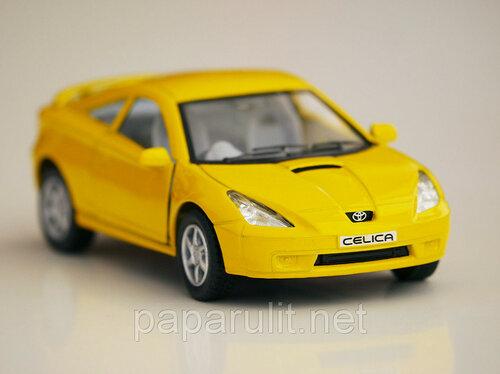 Kinsmart Toyota Celica праворульная моноцвет