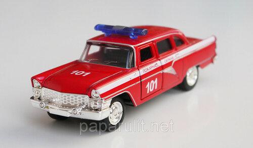 Машинка металлическая Чайка Пожарная