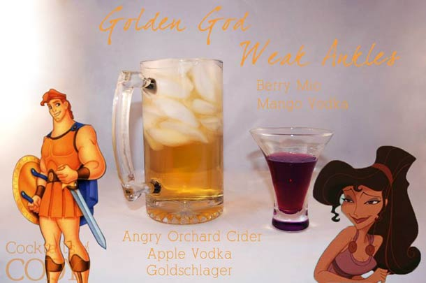 Disney Cocktails – The cocktail recipes inspired by Disney characters and princesses