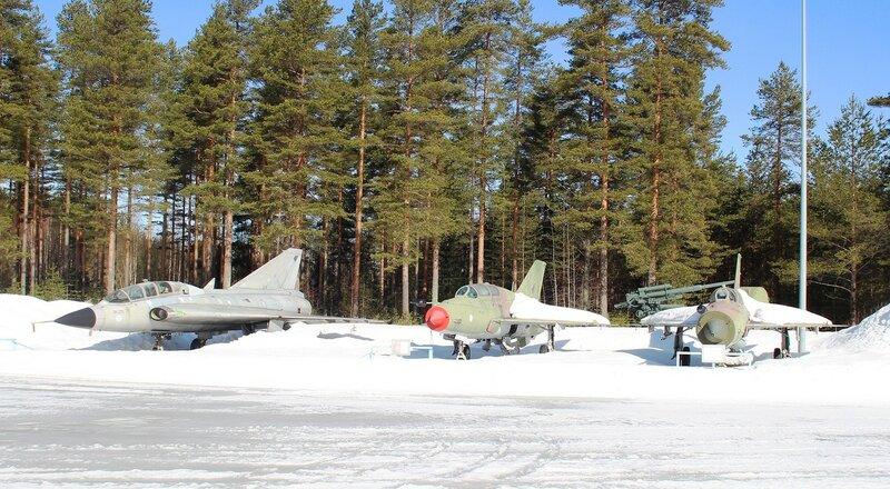 Музей авиации в Тиккакоски.