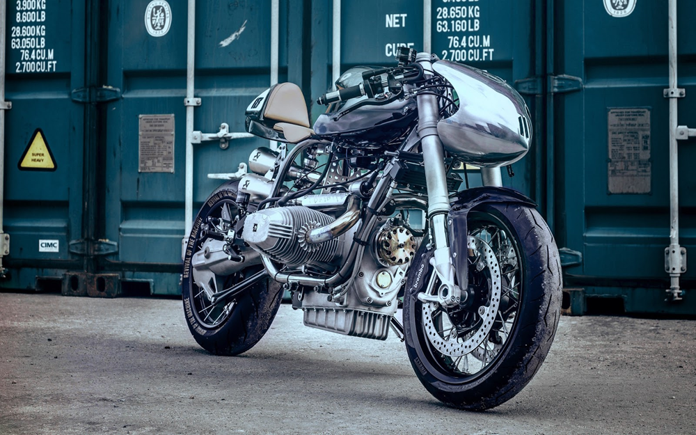 Revival of the Machine х XTR Pepo: кастом-байк BMW R100RS Silver Bullet Mk2