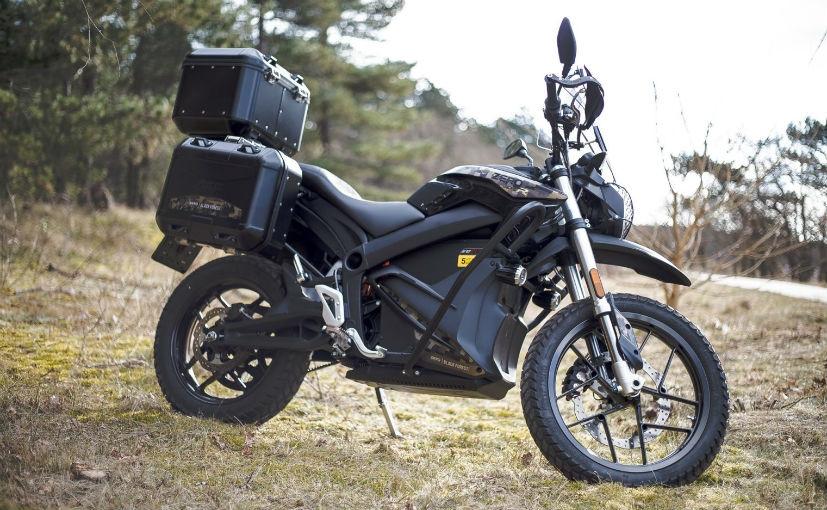 Электроцикл Zero DSR Black Forest Edition