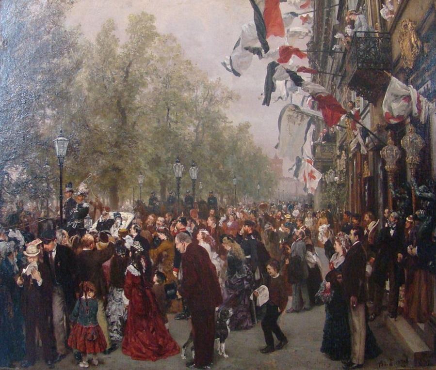 Выезд в армию короля Уильяма I. 31 июля 1870 года.jpg