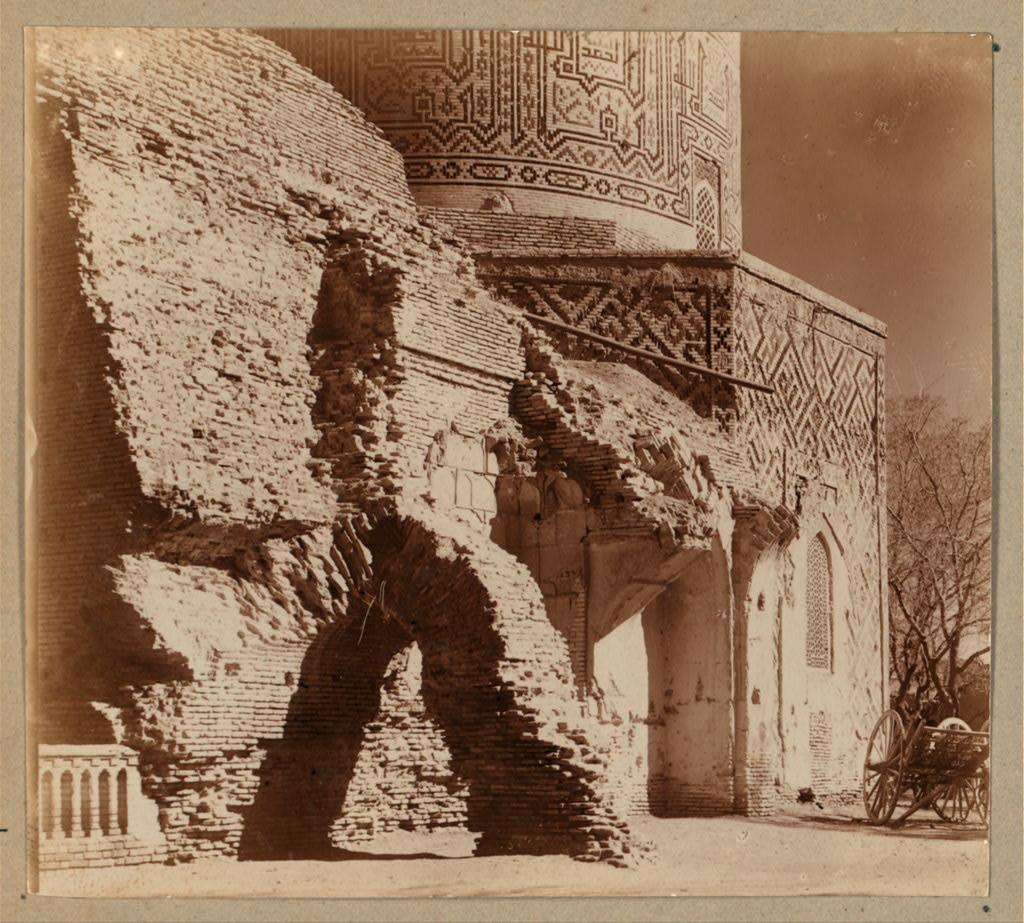 Гур-Эмир. Вход в мечеть (мавзолей)