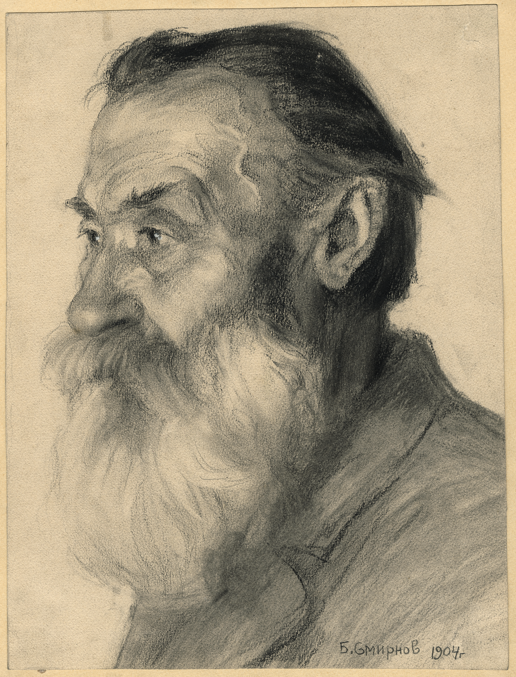 Старик переселенец из Украины