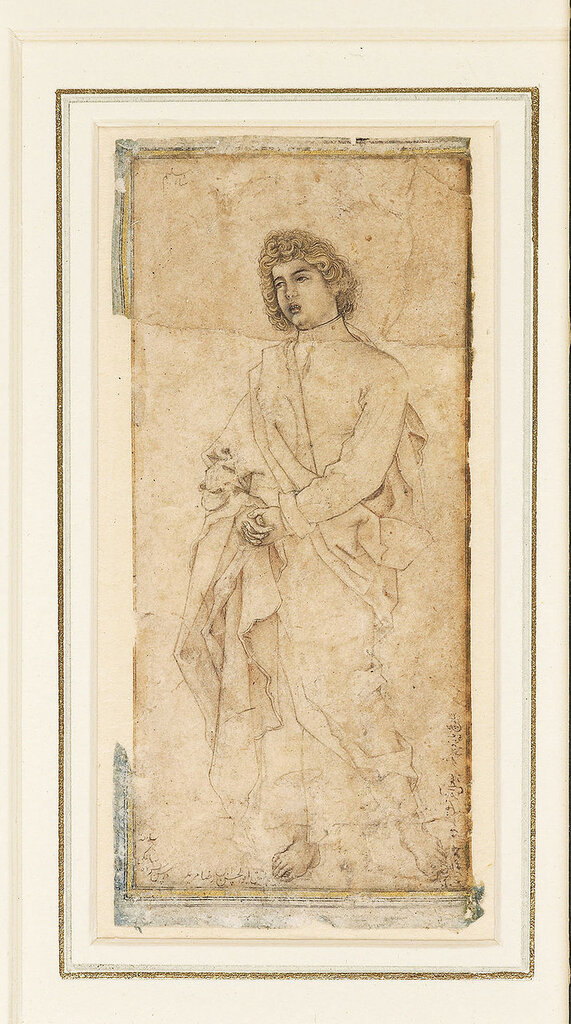 800px-2_Abu'l_Hasan__Study_of_St__John_Evangelist_adapted_from_Durer's_Crusifixion_engraving_of_1511__Dated_1600-1601,_The_Ashmolean_Museum,_Oxford.jpg