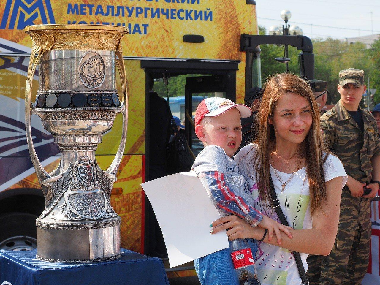 182Церемония чествования команды Металлург27.05.2016