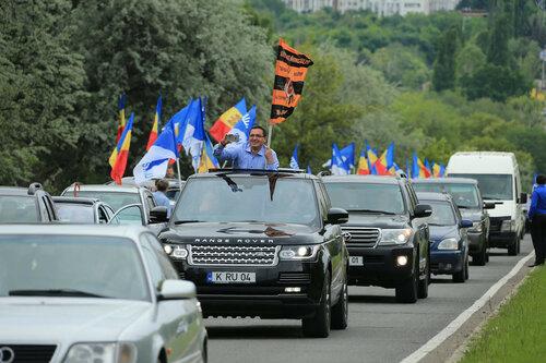 В Молдове 9 мая прошел автопробег «Кишинев-Шерпень»