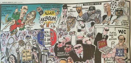 В Charlie Hebdo высмеяли угрозу терактов на Евро-2016