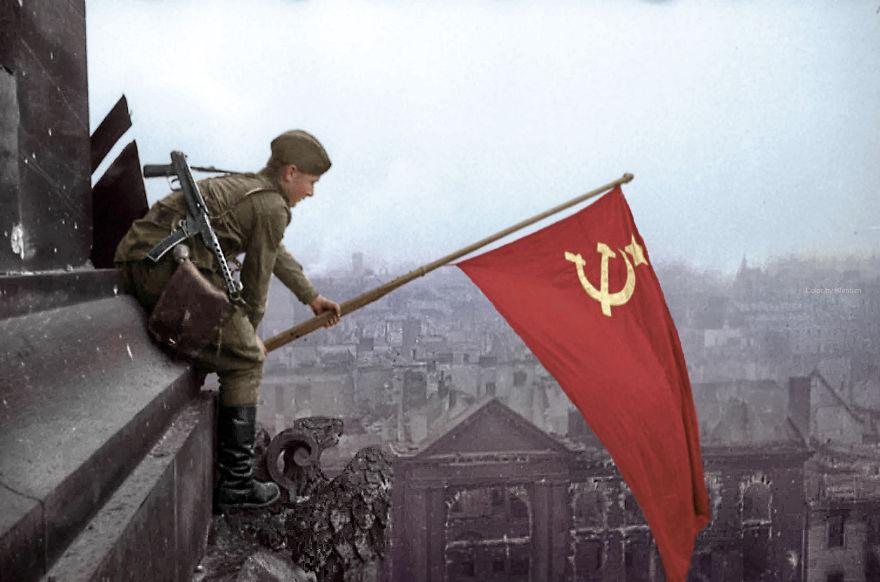 Раскрашенные исторические фотографии о русских людях (1900-1965)