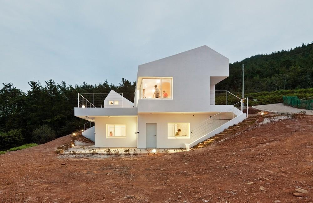 Бюджетный проект дома возле Сеула
