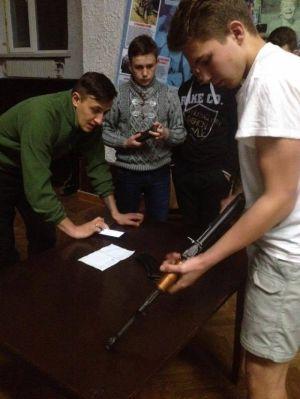 """""""ПС"""" Тернопольщины учит пластунов искусству зброєзнавства"""