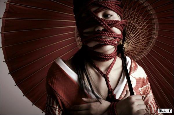 Японское искусство связывания - шибари (сибари)