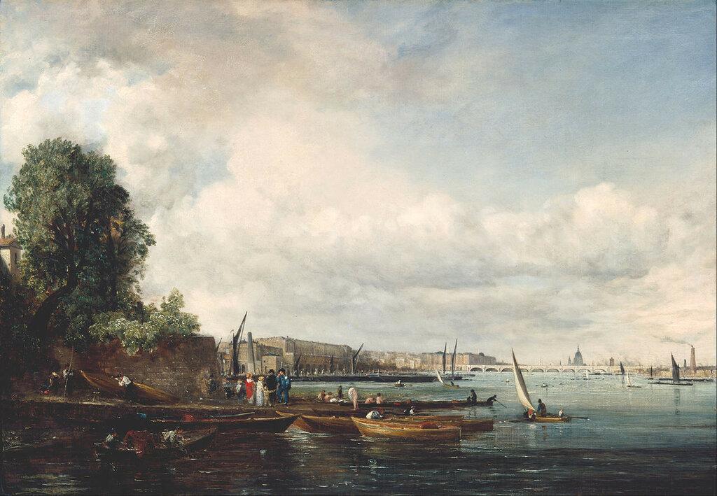 Мост Ватерлоо, 1825 год Джон КОНСТЕБЛ